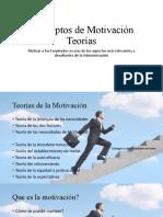 Conceptos de Motivación