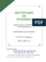 DICCIONARIO ECONOMICO PARA ESTUDIANTES