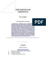 Aristotle the Poetics