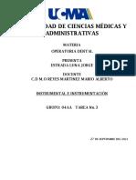 No. 3 Instrumental e instrumentación en operatoria dental