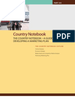 country notebook guide to develop a inetrnational marketing plan