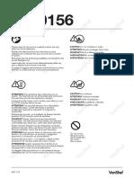 Vonshef 5.5L Air Fryer 1800W 2000156 Instruction Manual