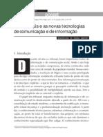 Boaventura de Sousa Santos - Os tribunais e as novas tencologias de comunicacao e de informacao (2005) 29p (pdf)