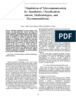 A Review of Simulation of Telecommunication Networks