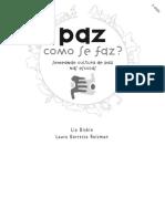 Cartilha Paz - Como se faz? - Lia Diskin e Laura Roizman