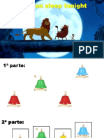 The lion sleep tonight (PARTITURA COLORIDA)