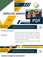 Sesion 5 -DIAPOSITIVAS - Derecho Minero UCT2021