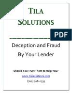 Mortgage Fraud Help