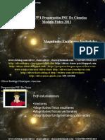 Clase N°1 PSU De Física 2011 - Magnitudes Escalares y Vectoriales
