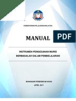 Manual Instrumen Pengesanan 8 April 2011