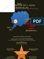 ARSITEKTUR dan BUDAYA