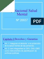 Ley Nacional Salud Mental