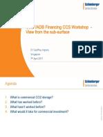 110406 GI Presentation to CSLF ADB Financing CCS Workshop