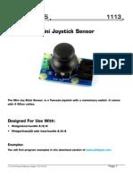 PH1113  Mini Joystick Sensor