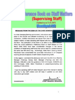Reference Book on Staff Matters