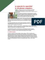 aspirina aumenta capacidad antioxidante del plasma