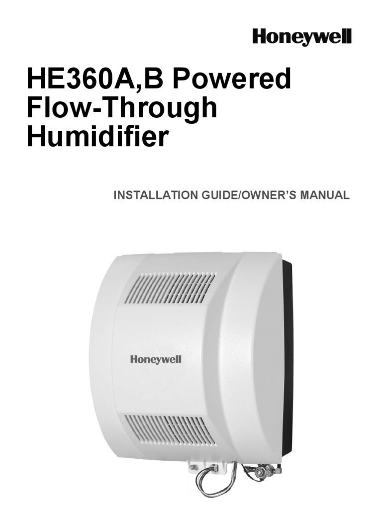 Honeywell He360 Wiring Diagram
