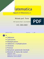Appunti Di Matematica 1