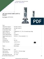 APC Smart-UPS RT 1000VA 230V No Batteries