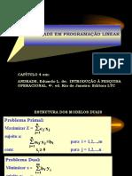 Capítulo 04 - Dualidade Na Progr Linear