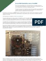 Configurando um NAS doméstico com o FreeNAS