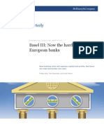 Basel III Now the hard part for European banks