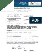 Evaluación de La Presencia de Arsénico Disuelto en Aguas Geotermales de Monterrey Huaraz, Ancash Yauri Huaroc Eudes