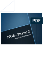 ITGS - Strand 2 - Health - Medical Research