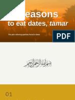10 reasons to eat dates, tamar