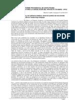 Informe UNOPS (sumario) - Sustento técnico del proyecto Tía María