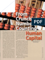 From Crunching Numbers to Human Capital