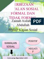 Perbezaan Kawalan Sosial Formal & Tidak Formal