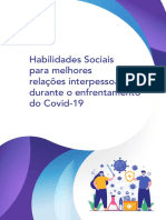Cartilha Habilidades Sociais - Pandemia