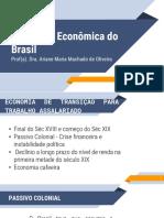 Formação Econômica do Brasil - UN3 - Vídeo 05