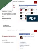 Facebook Freunde - Privat und Business trennen