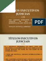 Títulos Executivos Judicias - Slides