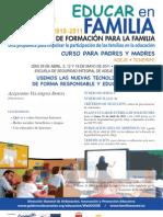 PLAN CANARIO DE FORMACIÓN PARA LA FAMILIA - EDUCAR EN FAMILIA - ADEJE