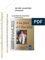 A Los Pies del Maestro _ Krishnamurti