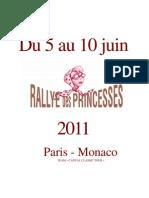 Rallye Des Princesse 2011