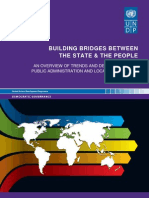 An Overview of Trends and Developments in Public Administration & Local Governance