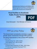 Delivering the Fiscal Policy and Regulatory Frameworks to Drive the Infrastructure Roadmap