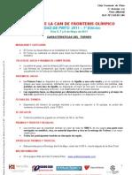 Torneo Olimpica CAM 2011 caracteristicas reducidas