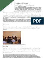 Resumen Jornadas Guinea 11 de abril 2011