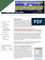 Dream Divers April 2011 Dive Club Newsletter