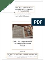 Fundamentos Teoricos Literatura Porfolio Scrapbook Memoria Alimentação