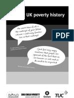 Making UK Poverty History