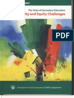 The State of Secondary Education Quality and Equity Challenges