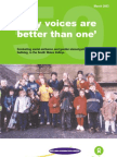 Fifty Voices Are Better Than One