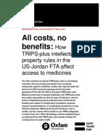 All Costs, No Benefits