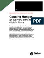 Causing Hunger